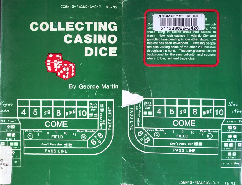 COLLECTING CASINO DICE by George MARTIN