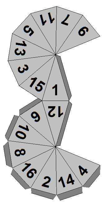 Dice, 12 sided dice and Templates on Pinterest