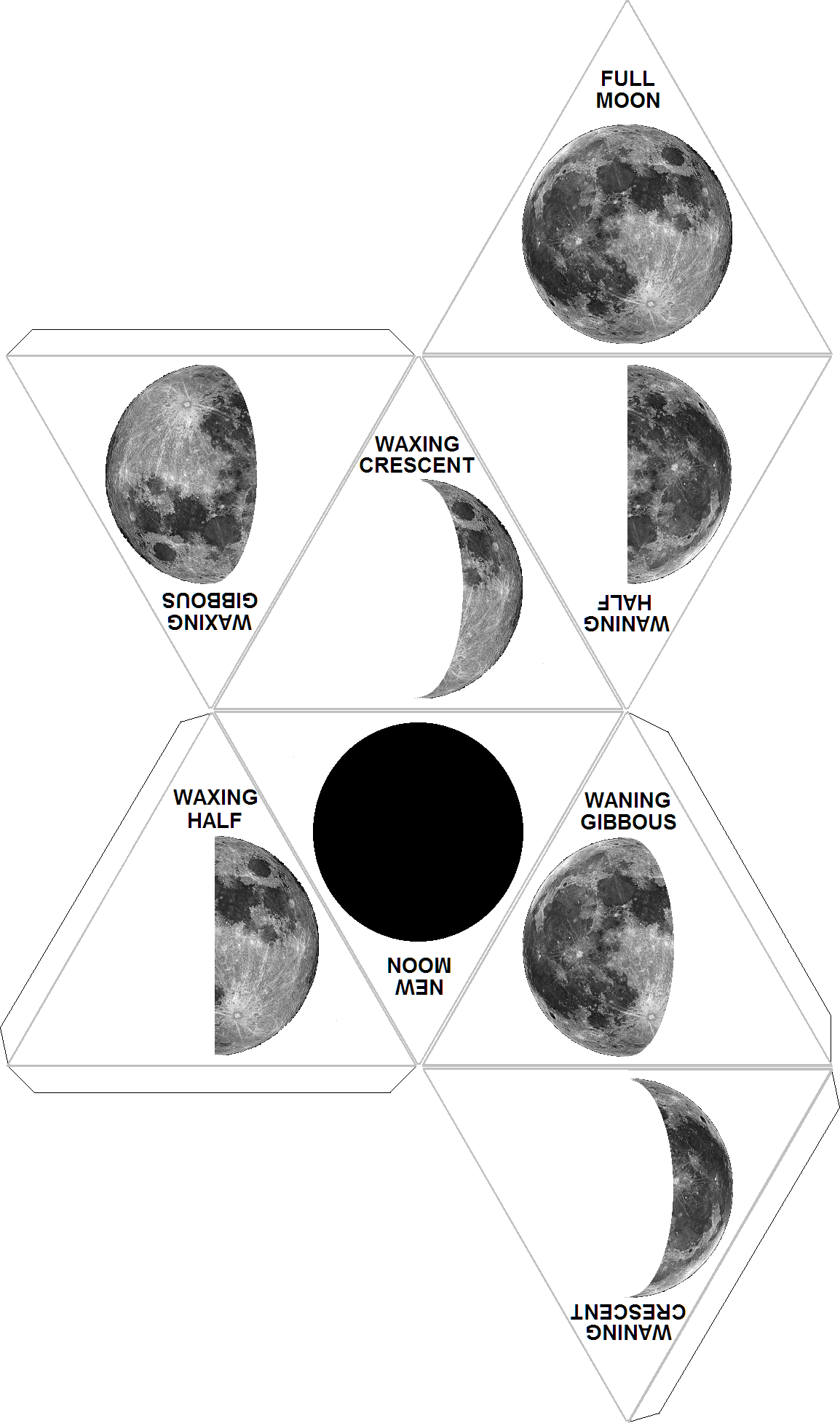 moon phases essay The moon blocks the sun and cannot therefore reflect its rays to the earth while when the moon is behind the earth as in diagram four, it reflects the rays a.