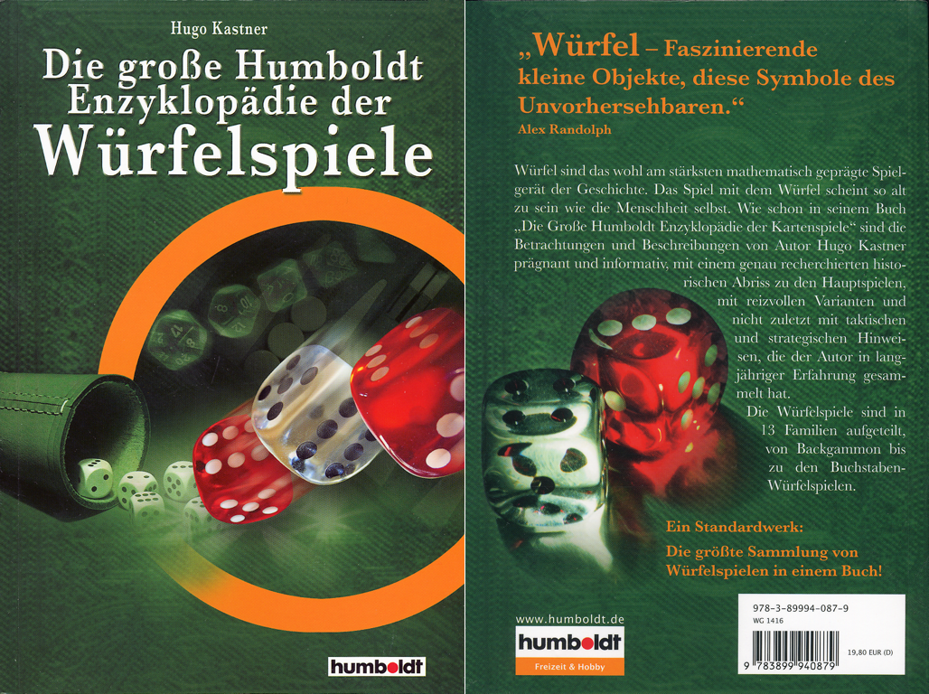 The Big Humboldt Encyclopdia of Dice Games