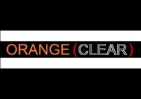 Dice : D100 ORANGE CLEAR 00 01