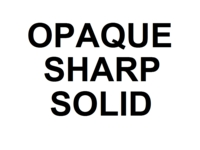 Dice : D20 OPAQUE SHARP SOLID 00
