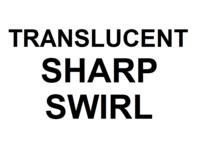 Dice : D20 TRANSLUCENT SHARP SWIRL 00