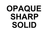 Dice : D6 OPAQUE SHARP SOLID 00