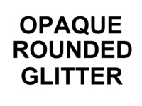 Dice : NON NUMBERED OPAQUE ROUNDED GLITTER 00