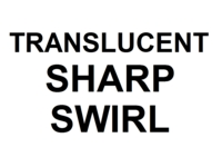 Dice : NUMBERED TRANSLUCENT SHARP SWIRL 00