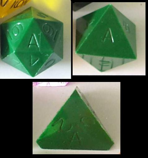 First Generation Armory Dice