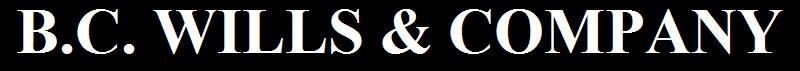 b.c. wills & company / bc wills