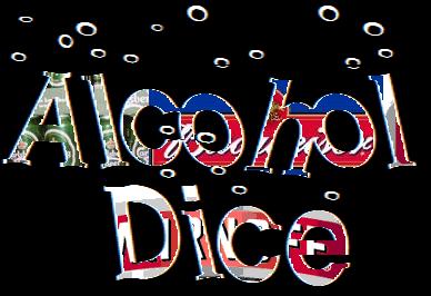 alchohol dice