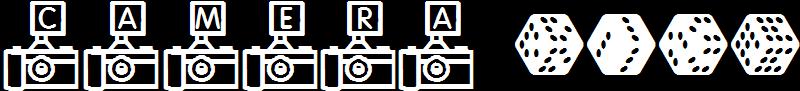camera dice