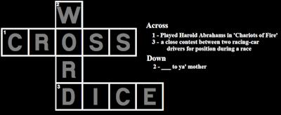 crosswords dice