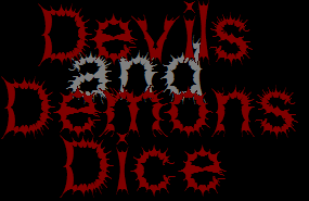 devils and demons dice