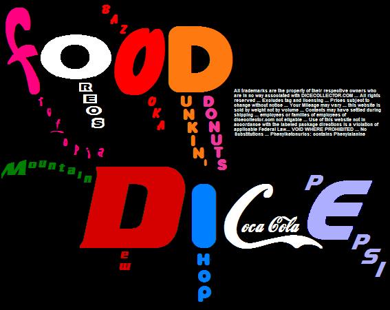 FOOD DICE