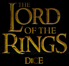 LORD OF THE RINGS DICE
