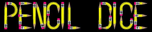 pencil dice