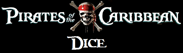 PIRATES OF THE CARIBBEAN DICE