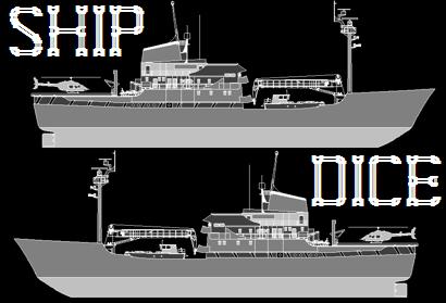 SHIP (BOAT) DICE