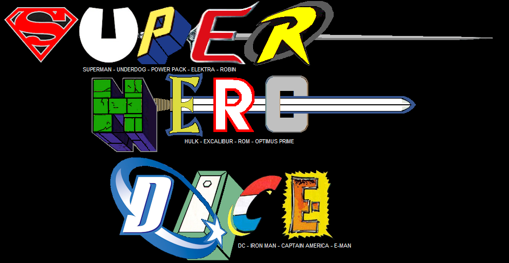 SUPER HEROES DICE