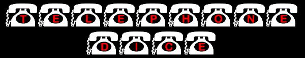 telephone dice