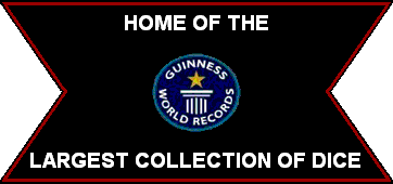 Guinness World Record Largest Collection of Dice