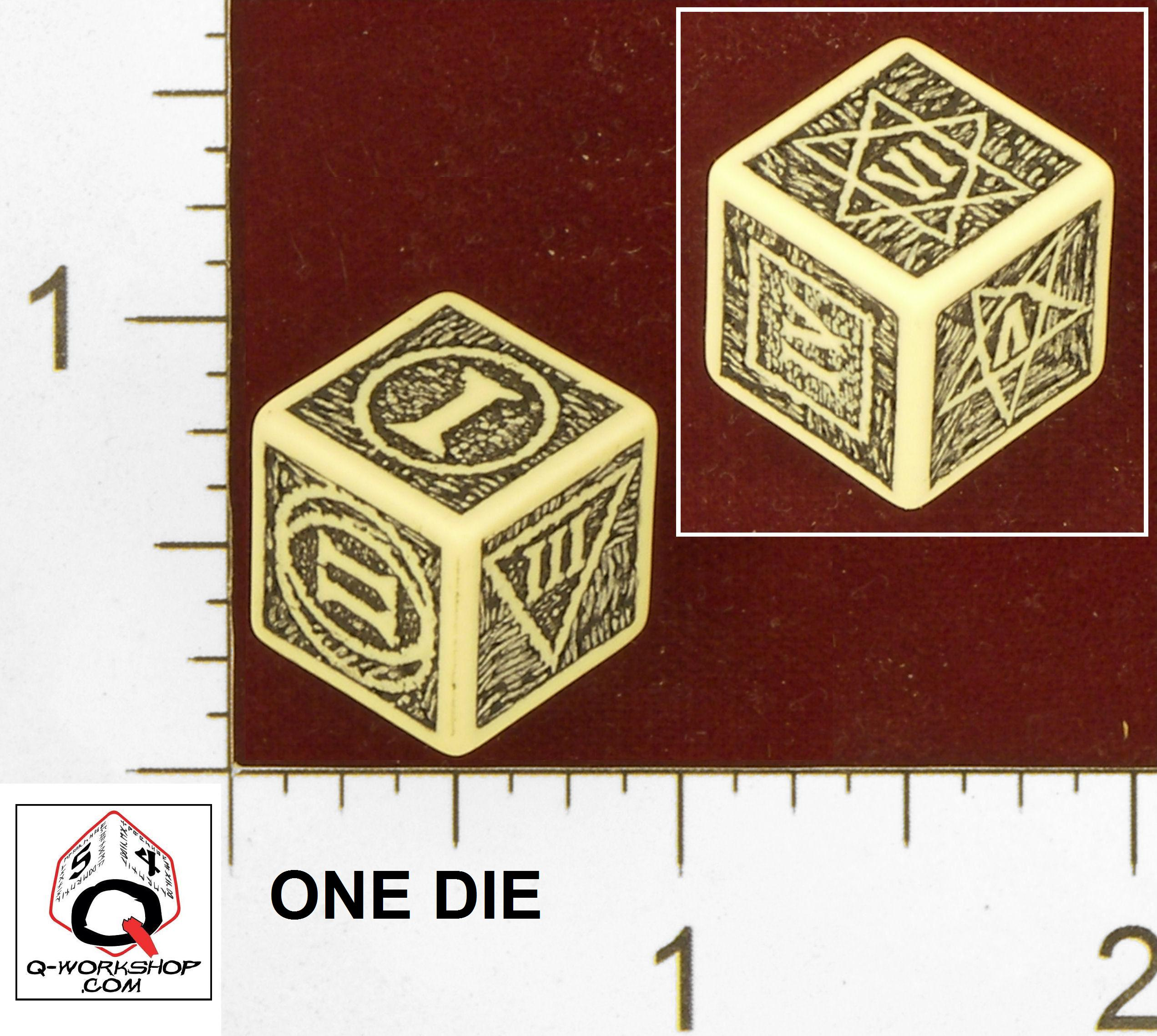 Witcher 2 Poker Die by inidu - Thingiverse