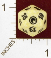 Dice : D20 OPAQUE ROUNDED SPECKLED MTG LIFE COUNTERS SCARS OF MIRRODIN 02