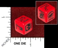 Dice : MINT48 CHESSEX LINGERING INUURIES AND LASTING WOUNDS THE BUTCHER