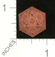 Dice : MINT27 SHAPEWAYS GYTHAWEN STEAMPUNK D20 01