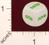 Dice : MINT19 KOPLOW ITALIAN WORDS FOR NUMBERS 01