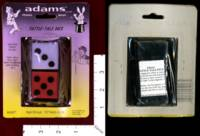 Dice : MINT32 ADAMS TATTLE TALE DICE 01