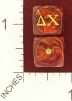 Dice : MINT27 CHESSEX CUSTOM FOR RACERSKA DELTA CHI 01