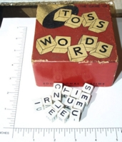 Dice : NON NUMBERED KRAEG GAMES TOSS WORDS 01
