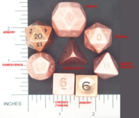 Dice : METAL COPPER MULTI 03