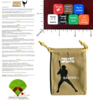 Dice : MINT46 POCKET SPORTS BASEBALL
