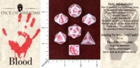 Dice : MINT48 DICE OF AWESOME BRITT DUENYAS YOU NEED THESE DICE BLOOD