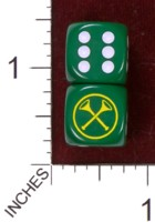 Dice : MINT35 CHESSEX CUSTOM FOR KINGDOM DICE SCA HERALD