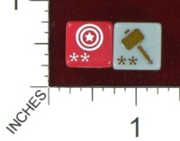 Dice : MINT39 WIZKIDS MARVEL AVENGERS VS X-MEN ITEMS