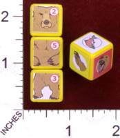 Dice : MINT30 PRINT AND PLAY PRODUCTIONS CHUNKY FIGHTERS BEAR 01