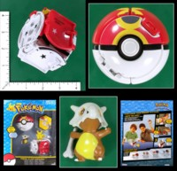 Dice : MINT55 TOMY POKEMON THROW N POP REPEAT BALL CUBONE