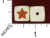 Dice : MINT29 YAK YAKS SOVIET STAR 01