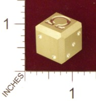Dice : MINT21 ACE PRECISION BRASS OMEGA