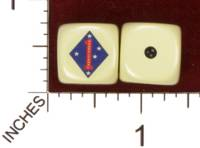 Dice : MINT29 YAK YAKS US MARINE CORPS 1ST DIVISION 01