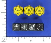 Dice : MINT57 MODIPHIUS Q WORKSHOP STAR TREK ADVENTURES OPERATIONS