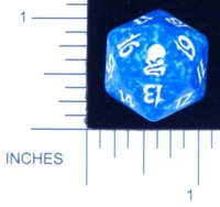 Dice : D20 OPAQUE ROUNDED SPECKLED MTG LIFE COUNTERS ODYSSEY 04
