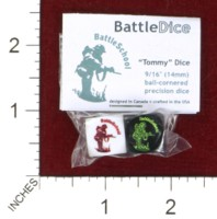 Dice : MINT44 BATTLESCHOOL BATTLEDICE TOMMY DICE