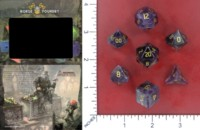 Dice : MINT52 NORSE FOUNDRY AMETHYST