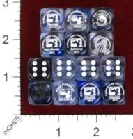 Dice : MINT44 CHESSEX POKEMON 03
