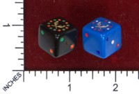 Dice : MINT50 UNKNOWN CHINESE WILD EAST GAMES LIGHTNING DICE RECOLOR 02