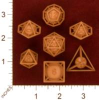 Dice : MINT29 SHAPEWAYS MCTRIVIA FRAME DICE PACK 01