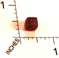 Dice : STONE D6 RUBY 01
